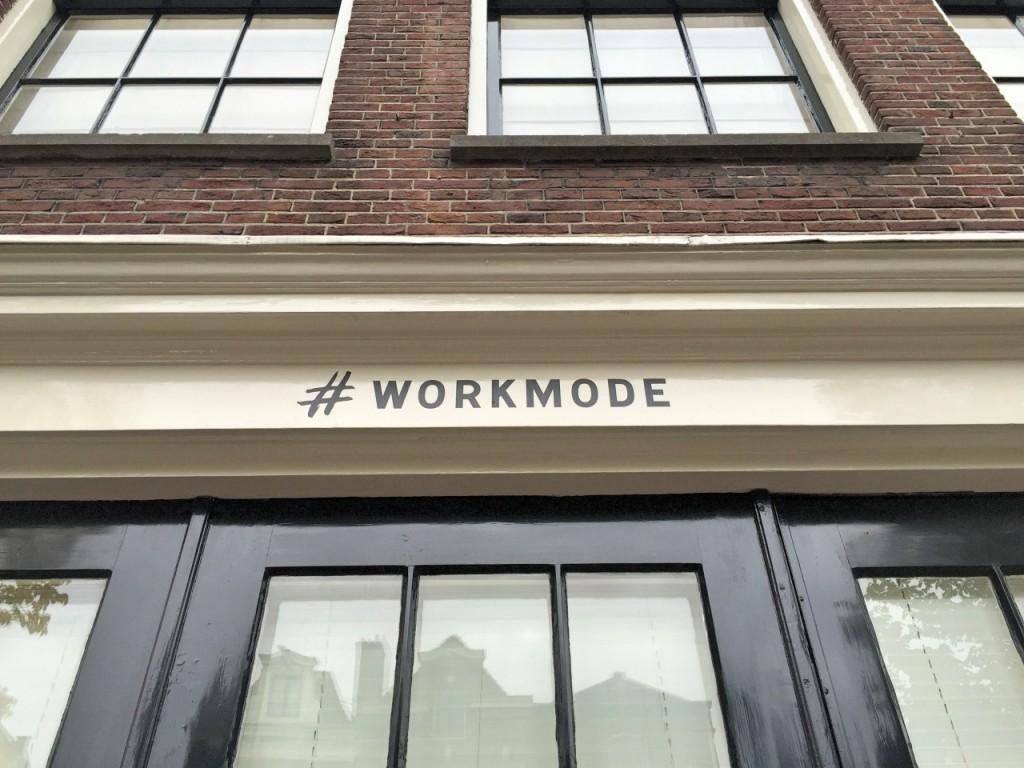 #workmode amsterdam