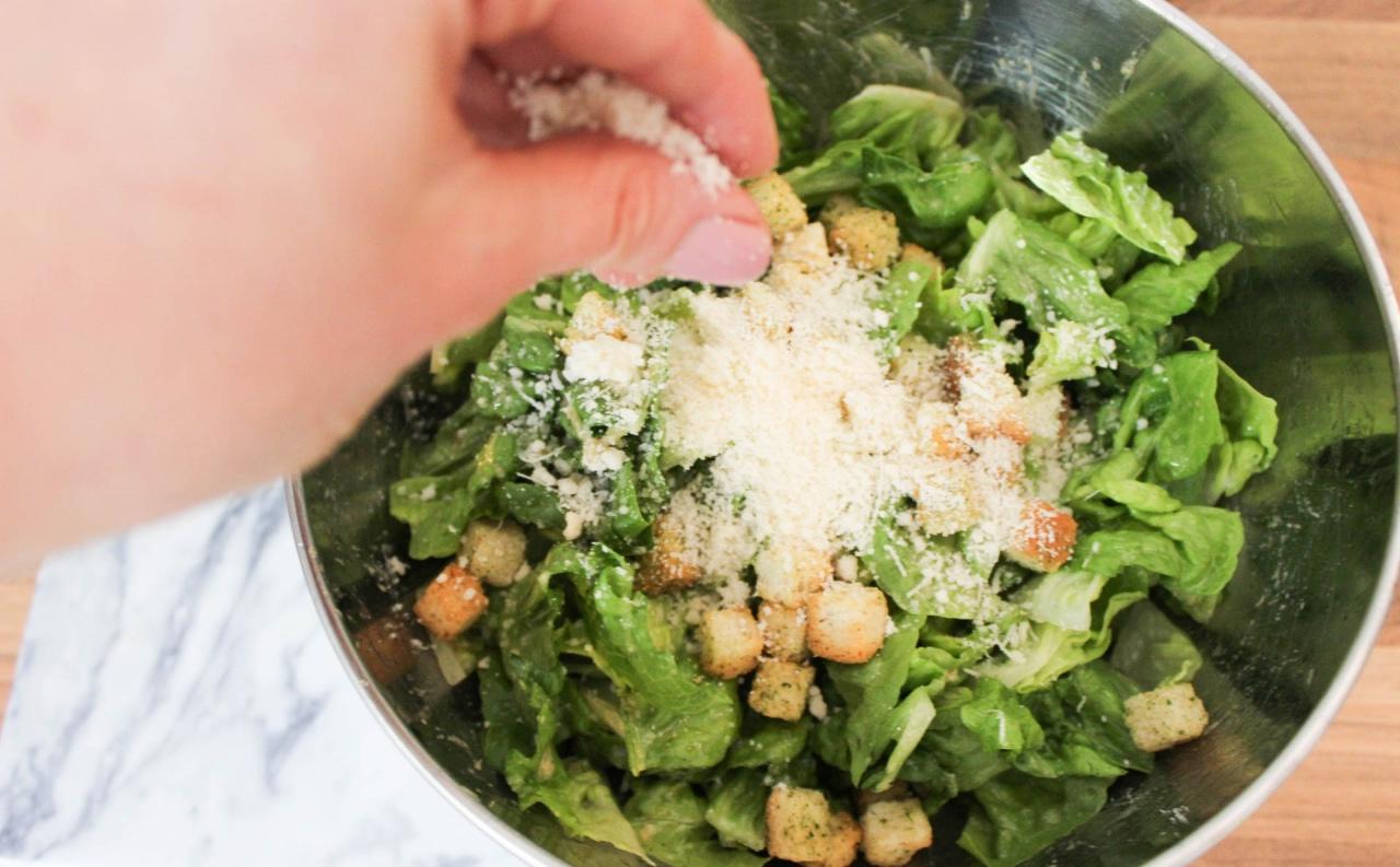 Ceasar salad Najsattityd