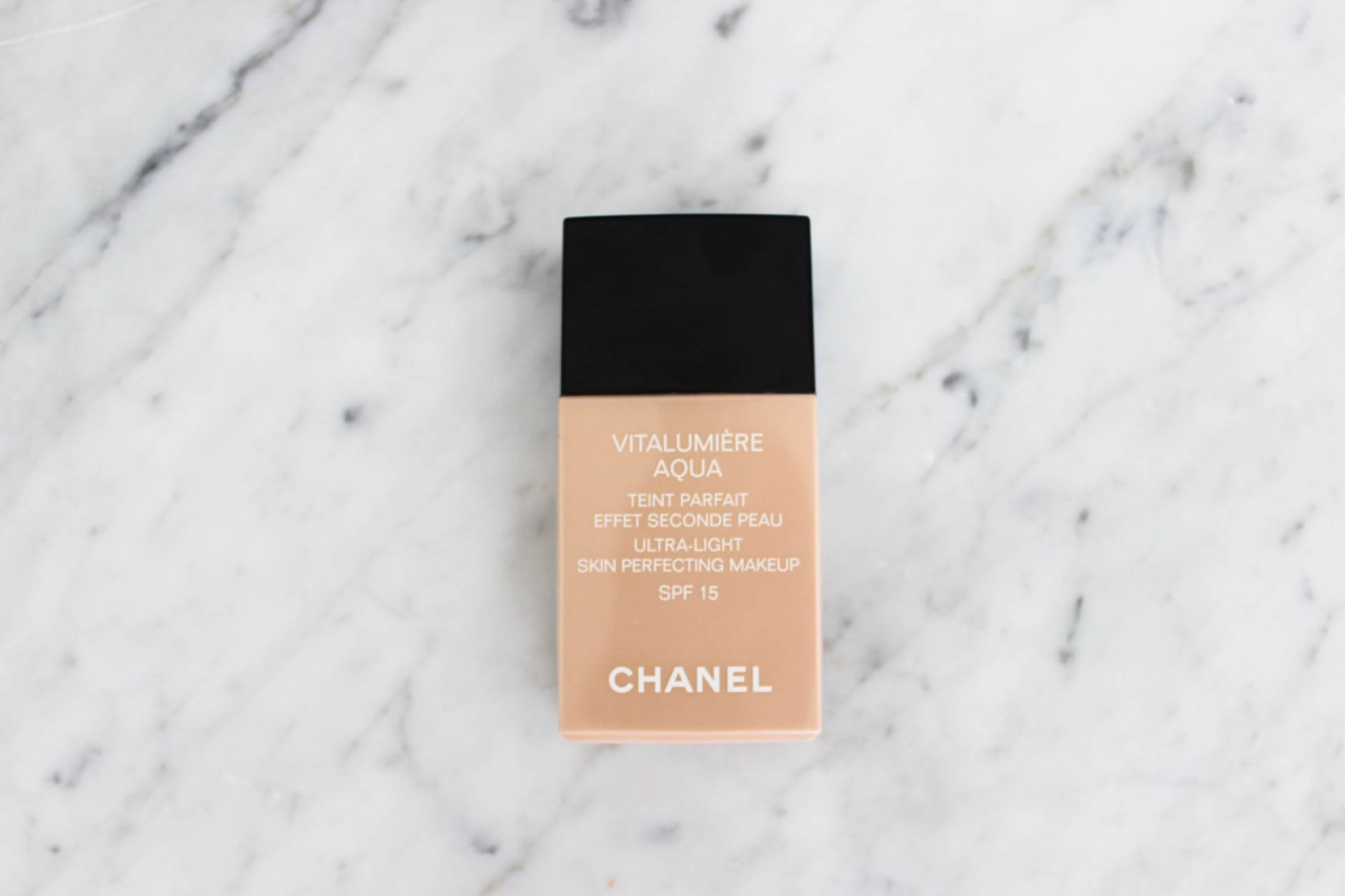 Chanel Foundation Favoriten Najsattityd