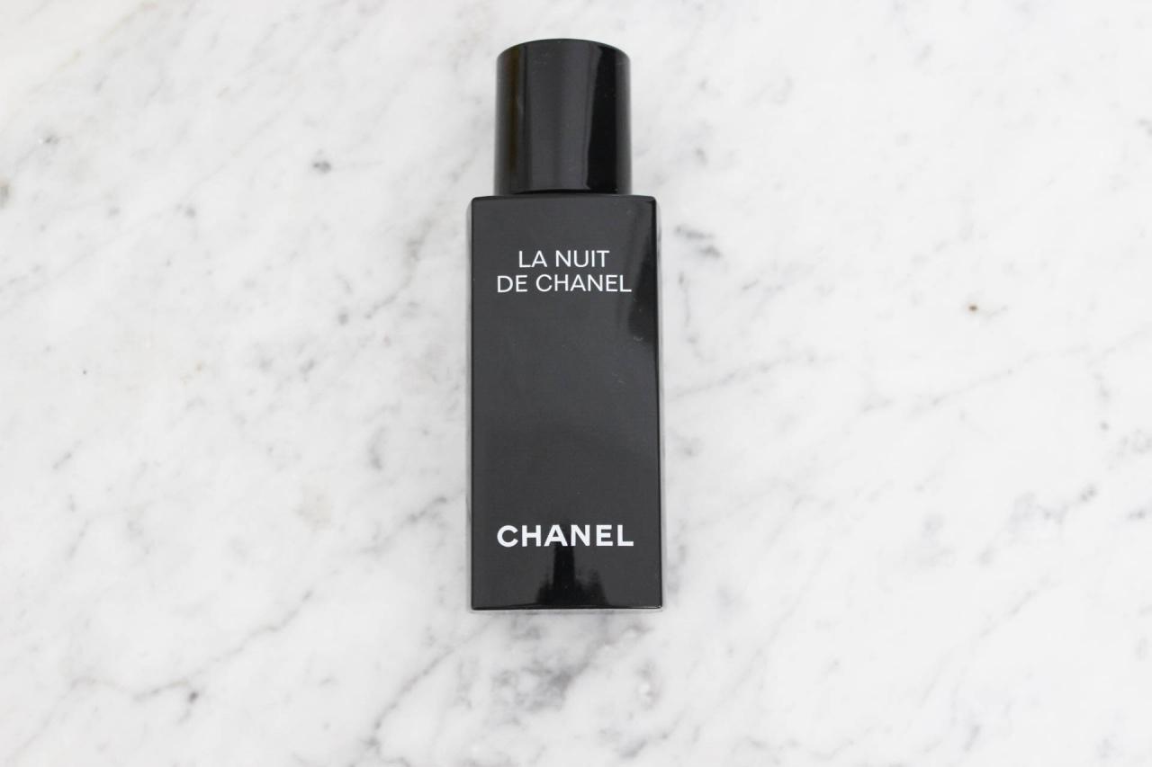 Chanel La Nuit Sommerroutine Najsattityd