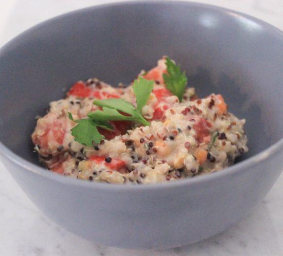 Quinoa Sommersalat Najsattityd